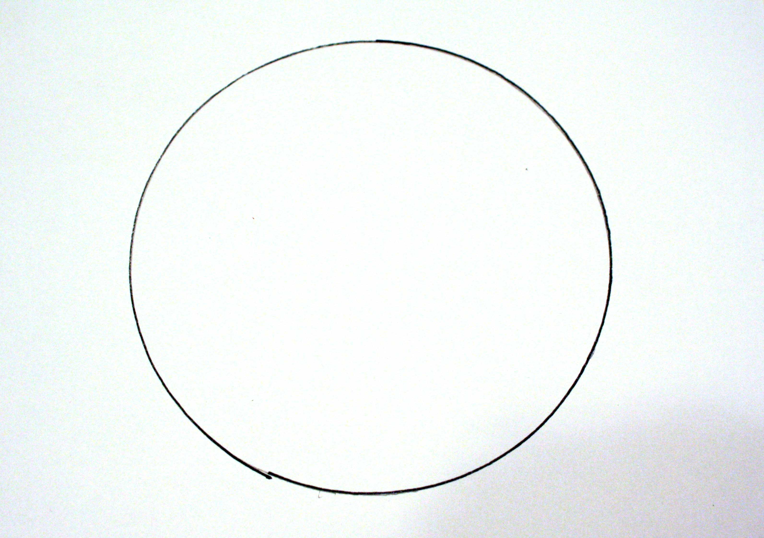 hrml5 how to draw circle